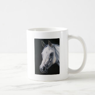 Taza De Café Un caballo blanco