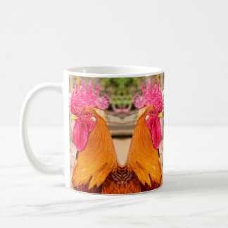 Taza De Café Un gallo muy hermoso