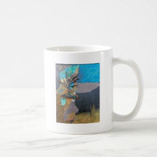 Taza De Café Una colina del árbol