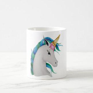 Taza De Café unicornio del helado del Uni-cono