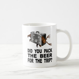 Taza De Café ¿Usted embaló la cerveza para el viaje?