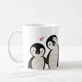Taza De Café Usted es mi pingüino