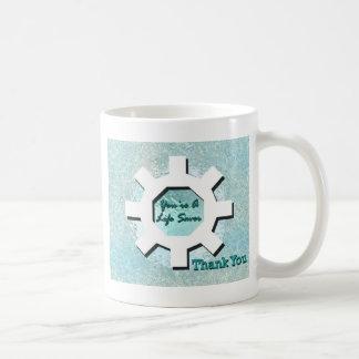 Taza De Café Usted es salvador le agradece