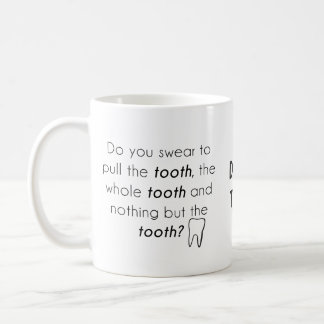 Taza De Café ¿Usted jura?