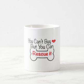 Taza De Café Usted no puede comprar amor sino que usted puede