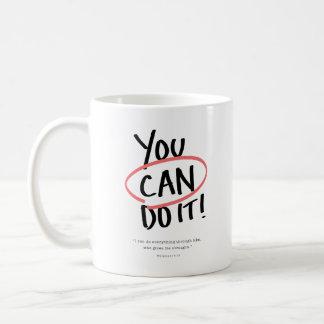 Taza De Café ¡Usted puede hacerlo!