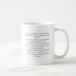 Taza De Café Usted puede ser que sea una familia de la alergia