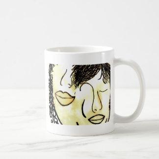 Taza De Café Usted y yo tonos de la sepia