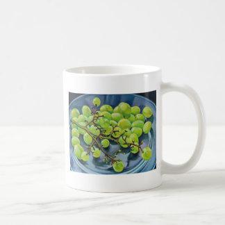 Taza De Café Uvas blancas