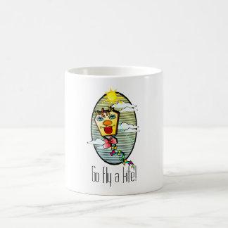 Taza De Café Va la mosca una cometa 7