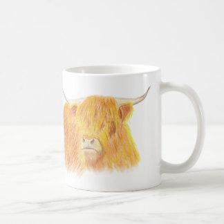 Taza De Café Vaca de la montaña
