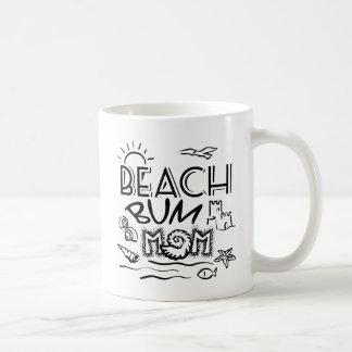 Taza De Café Vago de la playa