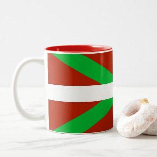 Taza de café vasca de Ikurrina de la bandera