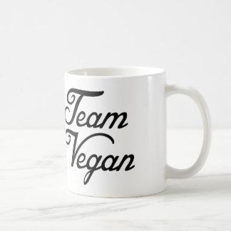 Taza De Café Vegano del equipo