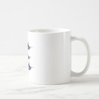 Taza De Café Vela lejos