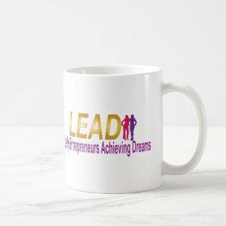 Taza De Café Ventaja, señora Entrepreneurs Achieving Dreams Mug