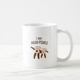 Taza De Café Veo a gente del pan