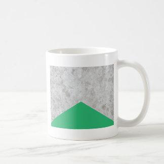 Taza De Café Verde concreto #175 de la flecha