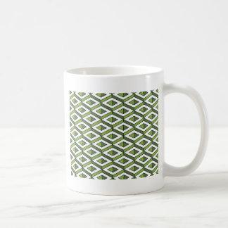 Taza De Café verdor y col rizada de la geometría 3d
