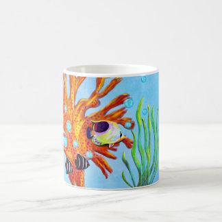 Taza De Café Vida acuática