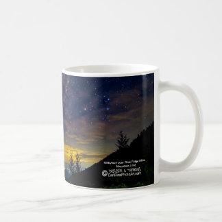 Taza De Café Vida de la montaña - Milkyway sobre NC Blueridge