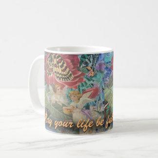Taza De Café Vida por completo de los ángeles de las