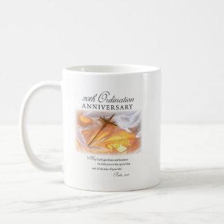 Taza De Café vigésimo Aniversario de la ordenación, vela