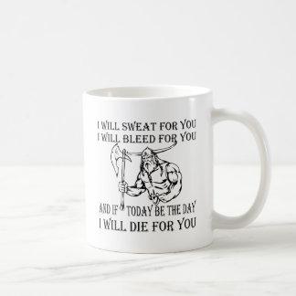 Taza De Café Viking I sudará el corrimiento y morirá por usted
