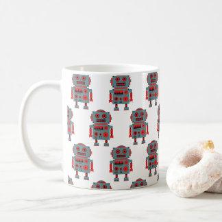 Taza De Café Vintage Toy robot en Kaffeetasse