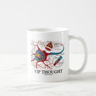 Taza De Café VIP pensado (humor de la neurona/de la sinapsis)