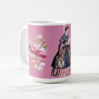 Taza De Café Viste el día de San Valentín personalizado ~ de