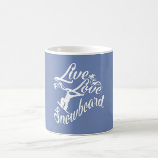 TAZA DE CAFÉ VIVE - AMOR - LA SNOWBOARD