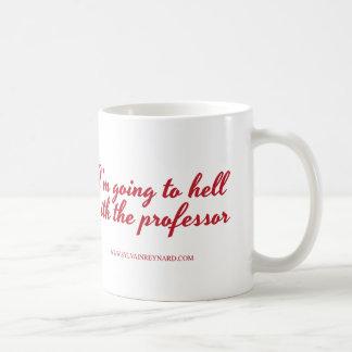 Taza De Café Voy al diablo con el profesor