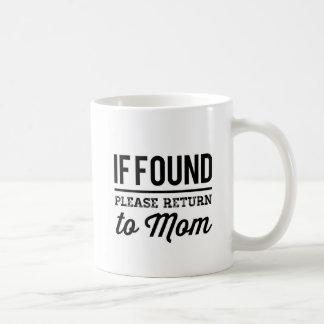 Taza De Café Vuelva a la mamá