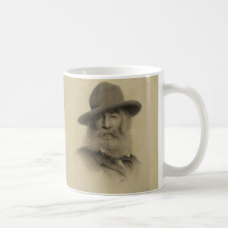 Taza De Café Walt Whitman el buen poeta gris