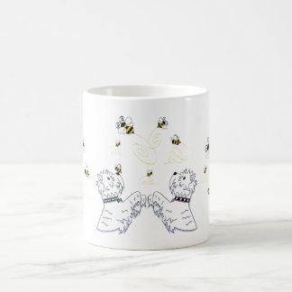 Taza De Café Westies y abejas