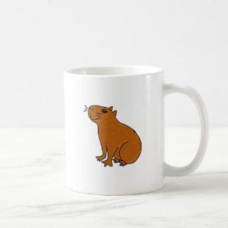 Taza De Café XX arte del Capybara