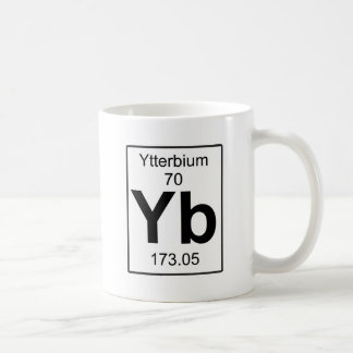 Taza De Café Yb - iterbio