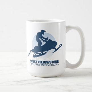 Taza De Café Yellowstone del oeste (SM)