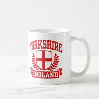 Taza De Café Yorkshire Inglaterra