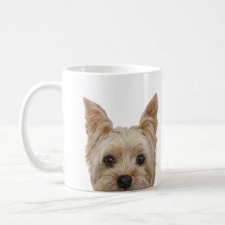 Taza De Café Yorkshire Terrier, original por el miart
