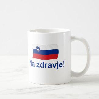 Taza De Café ¡Zdravje esloveno del Na! (A su salud!)