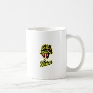 Taza De Café Zion. Iron Lion Zion HQ Color Edition