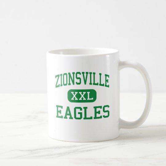 Taza De Café Zionsville - Eagles - comunidad - Zionsville