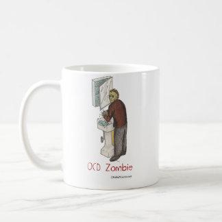 Taza De Café Zombi de OCD