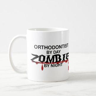 Taza De Café Zombi del Orthodontist