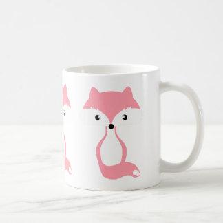 Taza De Café Zorro rosado