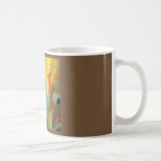 Taza De Café Zumbido abstracto del cafeína