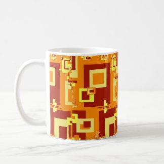 Taza de Cassic en diseño de la especia del otoño