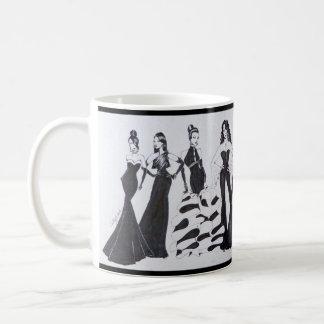 Taza de cerámica con el gráfico hermoso de la moda